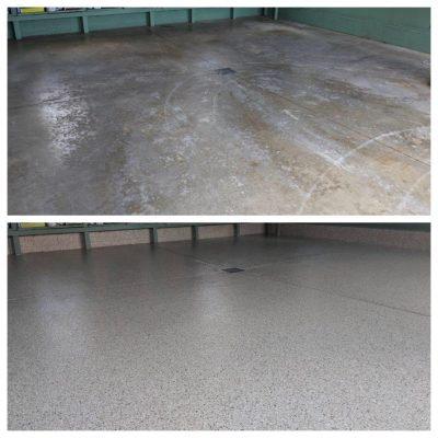 refinished-garage-with-a-custom-concrete-floor-coating